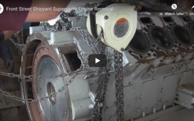 Front Street Shipyard: Engineering a Superyacht Engine Removal