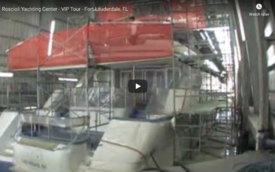 Roscioli Yachting Center VIP Tour